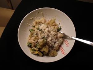 Eggplant, Artichoke & Broccolini Pasta
